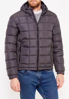 Пуховик, IST'OK, цвет: серый. Артикул: MP002XM0W4TR. Одежда / Верхняя одежда / Пуховики и зимние куртки