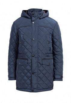 Куртка утепленная, Finn Flare, цвет: синий. Артикул: MP002XM0W5YX. Одежда / Верхняя одежда / Пуховики и зимние куртки