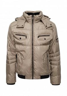 Пуховик, Tais, цвет: бежевый. Артикул: MP002XM0W6DQ. Одежда / Верхняя одежда / Пуховики и зимние куртки