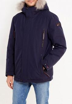 Куртка утепленная, Tais, цвет: синий. Артикул: MP002XM0W6DZ. Одежда / Верхняя одежда / Пуховики и зимние куртки