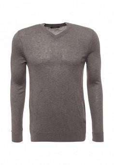 Пуловер, LC Waikiki, цвет: серый. Артикул: MP002XM0YC6X. Одежда / Джемперы, свитеры и кардиганы