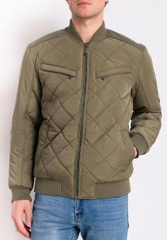 Куртка утепленная, Finn Flare, цвет: хаки. Артикул: MP002XM0YEXY. Одежда / Верхняя одежда / Демисезонные куртки