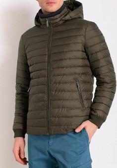 Куртка утепленная, Finn Flare, цвет: зеленый. Артикул: MP002XM0YEY7. Одежда / Верхняя одежда / Демисезонные куртки
