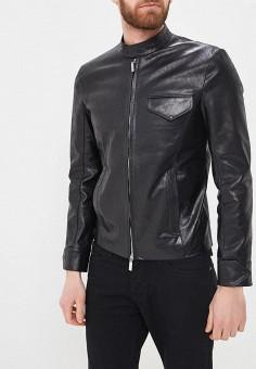 Куртка кожаная, Bos Bison, цвет: черный. Артикул: MP002XM0YG4G. Одежда / Верхняя одежда / Кожаные куртки