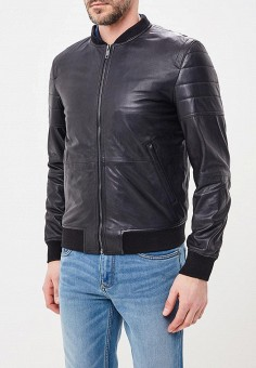 Куртка кожаная, Urban Fashion for Men, цвет: черный. Артикул: MP002XM0YI76. Одежда / Верхняя одежда / Кожаные куртки
