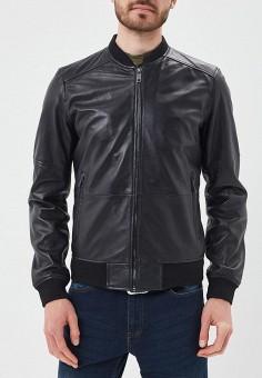 Куртка кожаная, Urban Fashion for Men, цвет: черный. Артикул: MP002XM0YJF1. Одежда / Верхняя одежда / Кожаные куртки