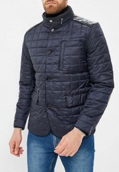 Куртка утепленная, Al Franco, цвет: синий. Артикул: MP002XM23UAS. Одежда / Верхняя одежда / Демисезонные куртки