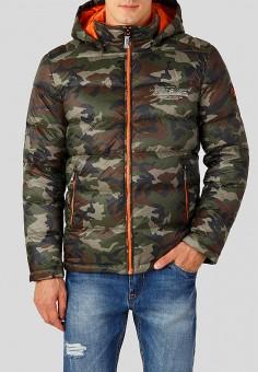 Пуховик, Finn Flare, цвет: мультиколор. Артикул: MP002XM23UDD. Одежда / Верхняя одежда / Пуховики и зимние куртки