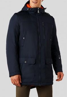 Парка, Finn Flare, цвет: синий. Артикул: MP002XM23UDQ. Одежда / Верхняя одежда / Демисезонные куртки