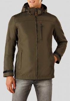 Куртка, Finn Flare, цвет: зеленый. Артикул: MP002XM23UDZ. Одежда / Верхняя одежда / Демисезонные куртки