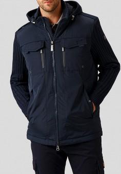 Куртка утепленная, Finn Flare, цвет: синий. Артикул: MP002XM23UVE. Одежда / Верхняя одежда / Демисезонные куртки