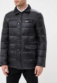 Пуховик, Al Franco, цвет: черный. Артикул: MP002XM23VF3. Одежда / Верхняя одежда / Пуховики и зимние куртки