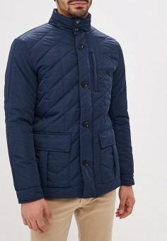 Куртка утепленная, Al Franco, цвет: синий. Артикул: MP002XM23VF5. Одежда / Верхняя одежда / Демисезонные куртки