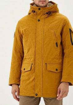 Куртка утепленная, Winterra, цвет: оранжевый. Артикул: MP002XM23VY8. Одежда / Верхняя одежда / Пуховики и зимние куртки