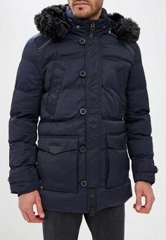 Куртка утепленная, Winterra, цвет: синий. Артикул: MP002XM23VYA. Одежда / Верхняя одежда / Пуховики и зимние куртки
