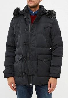 Куртка утепленная, Winterra, цвет: черный. Артикул: MP002XM23VYB. Одежда / Верхняя одежда / Пуховики и зимние куртки
