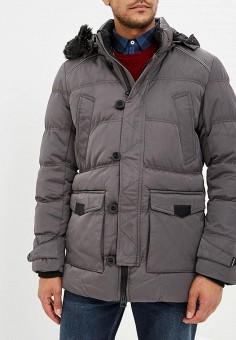 Куртка утепленная, Winterra, цвет: серый. Артикул: MP002XM23VYC. Одежда / Верхняя одежда / Пуховики и зимние куртки