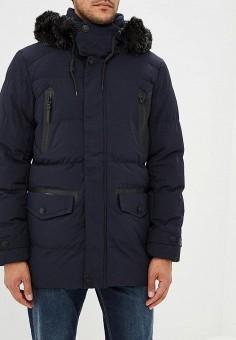 Куртка утепленная, Winterra, цвет: синий. Артикул: MP002XM23VYE. Одежда / Верхняя одежда / Пуховики и зимние куртки