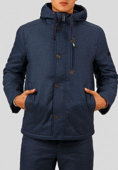Куртка утепленная, Finn Flare, цвет: синий. Артикул: MP002XM23W2B. Одежда / Верхняя одежда / Демисезонные куртки