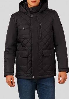 Куртка утепленная, Finn Flare, цвет: черный. Артикул: MP002XM23W2D. Одежда / Верхняя одежда / Демисезонные куртки