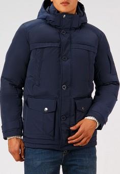 Пуховик, Finn Flare, цвет: синий. Артикул: MP002XM23W46. Одежда / Верхняя одежда / Пуховики и зимние куртки