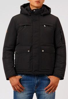 Куртка утепленная, Finn Flare, цвет: черный. Артикул: MP002XM23W4C. Одежда / Верхняя одежда / Демисезонные куртки