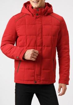 Пуховик, Finn Flare, цвет: красный. Артикул: MP002XM23X8F. Одежда / Верхняя одежда / Пуховики и зимние куртки