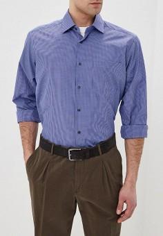 Рубашка Hansgrubber, цвет синий, размер 44/182