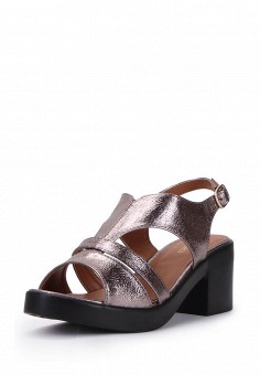 Босоножки, T.Taccardi, цвет: серебряный. Артикул: MP002XW00MDJ. Обувь