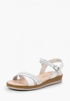 Сандалии, Alessio Nesca, цвет: белый. Артикул: MP002XW00MFK. Обувь / Сандалии