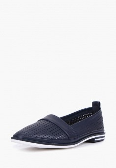 Туфли, Alessio Nesca, цвет: синий. Артикул: MP002XW00MGD. Обувь / Туфли / Закрытые туфли