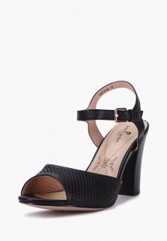 Босоножки, Pierre Cardin, цвет: черный. Артикул: MP002XW00MGI. Обувь