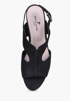 Босоножки, Pierre Cardin, цвет: черный. Артикул: MP002XW00MGJ. Обувь