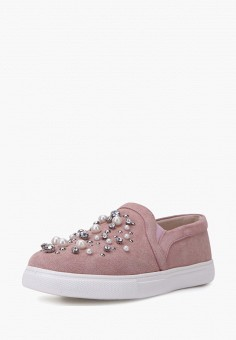 Слипоны, Pierre Cardin, цвет: розовый. Артикул: MP002XW00MHH. Обувь