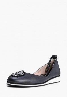 Балетки, Pierre Cardin, цвет: черный. Артикул: MP002XW00MKL. Обувь