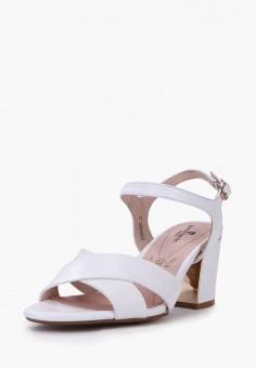 Босоножки, Pierre Cardin, цвет: белый. Артикул: MP002XW00MMC. Обувь / Босоножки
