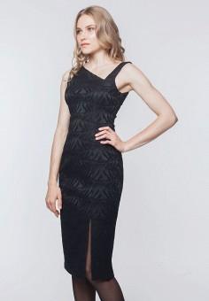 Платье, EMI, цвет: черный. Артикул: MP002XW0DJJU. Одежда