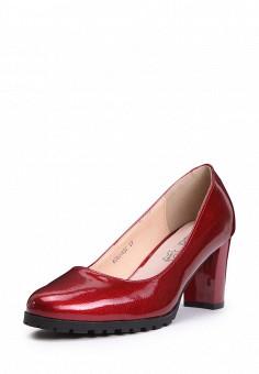Туфли, T.Taccardi, цвет: бордовый. Артикул: MP002XW0ESE1. Обувь