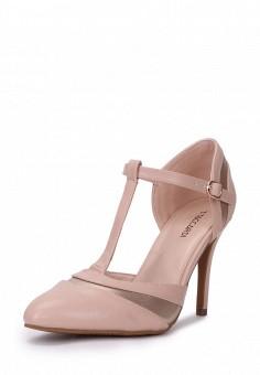 Туфли, T.Taccardi, цвет: бежевый. Артикул: MP002XW0F0SW. Обувь