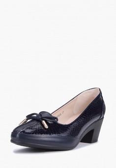Туфли, T.Taccardi, цвет: синий. Артикул: MP002XW0F0T2. Обувь / Туфли / Закрытые туфли