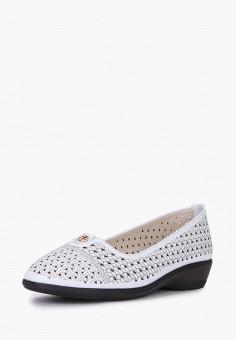 Туфли, T.Taccardi, цвет: белый. Артикул: MP002XW0F0TX. Обувь / Туфли / Закрытые туфли