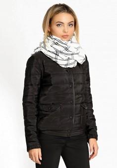 Куртка утепленная, Prio, цвет: черный. Артикул: MP002XW0F5WB. Одежда / Верхняя одежда / Демисезонные куртки