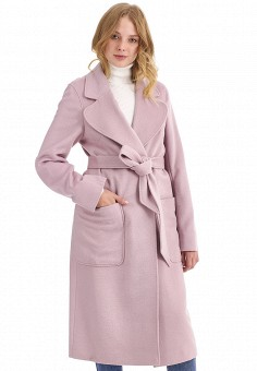 Пальто, Nastasia Sabio, цвет: розовый. Артикул: MP002XW0F60J. Одежда