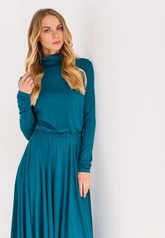 Платье, Nastasia Sabio, цвет: бирюзовый. Артикул: MP002XW0F60N. Одежда / Платья и сарафаны