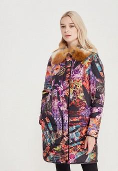 Куртка утепленная, Grafinia, цвет: мультиколор. Артикул: MP002XW0F8U7. Одежда / Верхняя одежда / Пуховики и зимние куртки