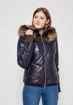 Куртка утепленная, Grafinia, цвет: синий. Артикул: MP002XW0F8UA. Одежда / Верхняя одежда / Пуховики и зимние куртки