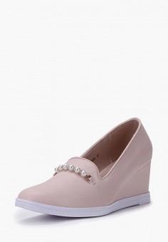 Туфли, T.Taccardi, цвет: бежевый. Артикул: MP002XW0FI4A. Обувь / Туфли / Закрытые туфли