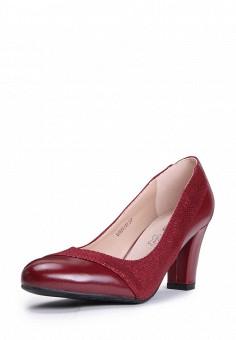 Туфли, T.Taccardi, цвет: бордовый. Артикул: MP002XW0FI4C. Обувь