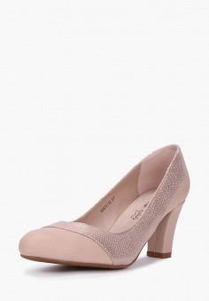 Туфли, T.Taccardi, цвет: бежевый. Артикул: MP002XW0FI4G. Обувь / Туфли / Закрытые туфли