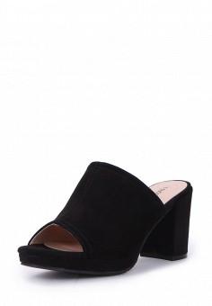 Сабо, T.Taccardi, цвет: черный. Артикул: MP002XW0FI6J. Обувь